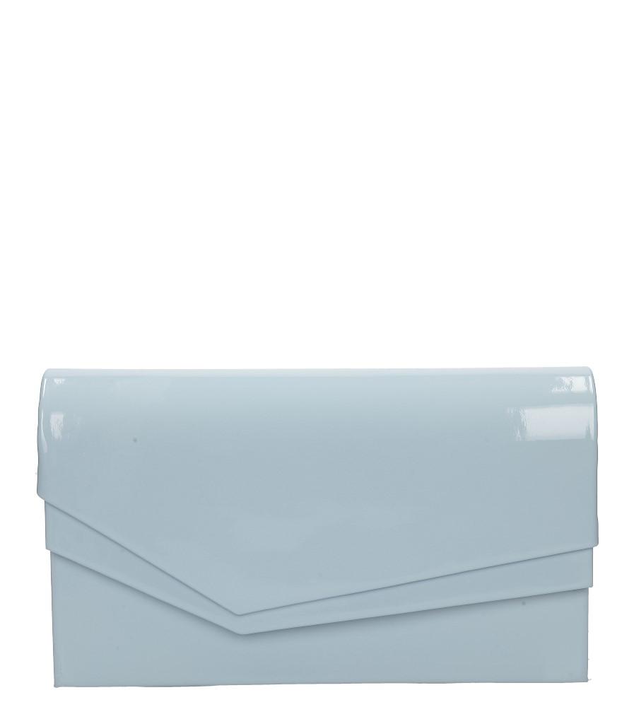 1934d7fa4cc1f Torebki Błękitna torebka wizytowa lakierowana Casu M01B - Sklep Casu.pl