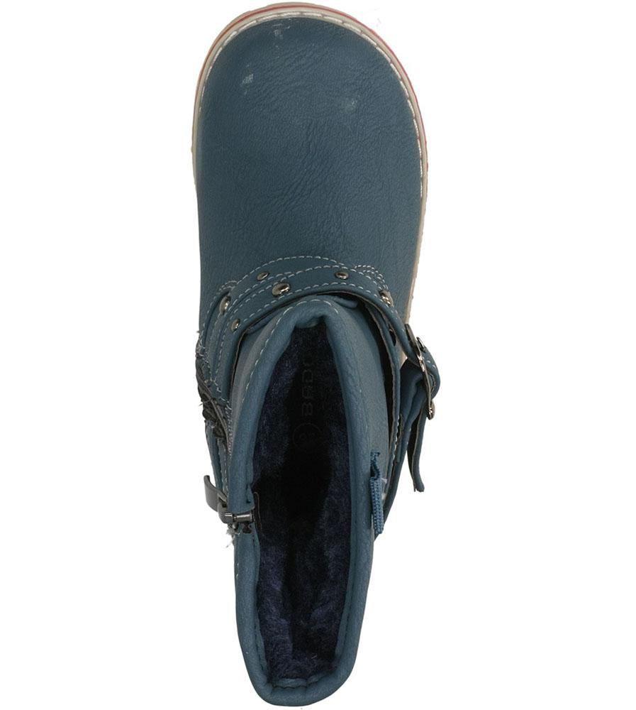 BOTKI 1XC6442-W kolor niebieski