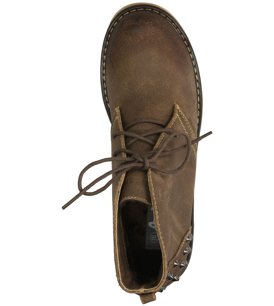 BOTKI AMERICAN 2223-4A-1 kolor brązowy