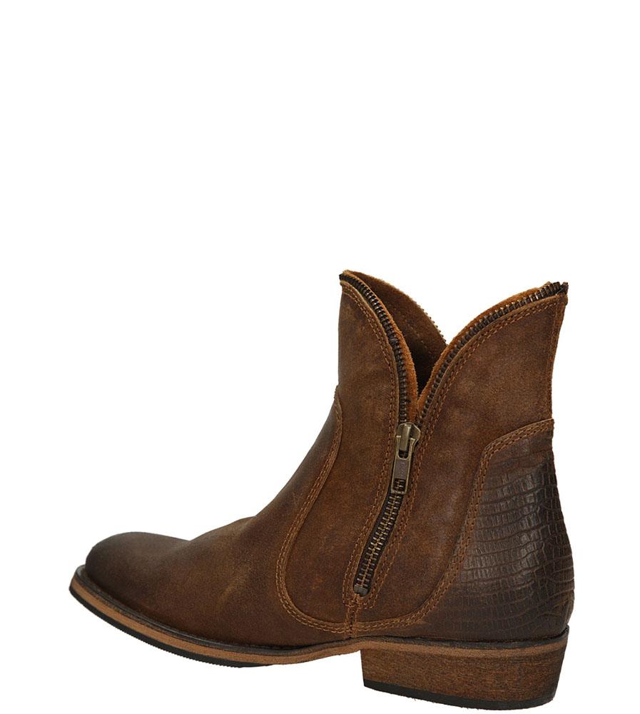 BOTKI BRONX 43821-AA kolor brązowy
