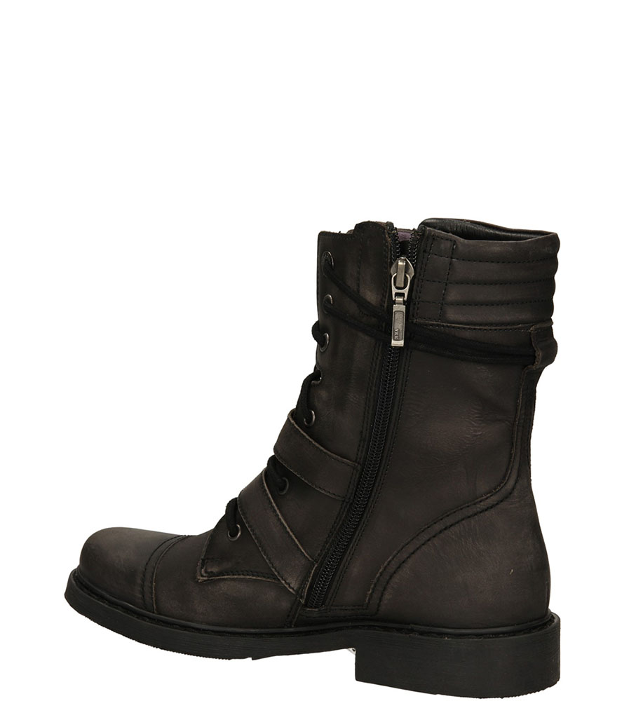 BOTKI BRONX 43828-A kolor czarny