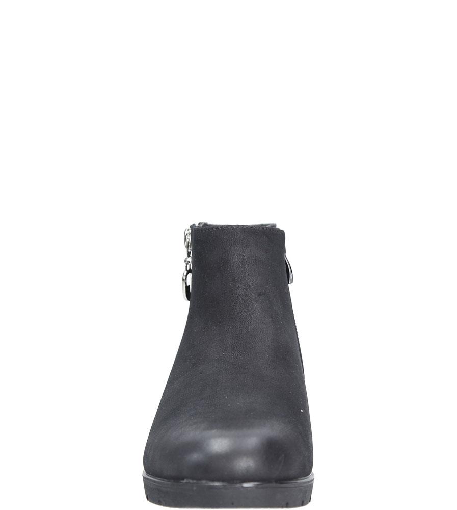 Botki Casu 2261-1 kolor czarny