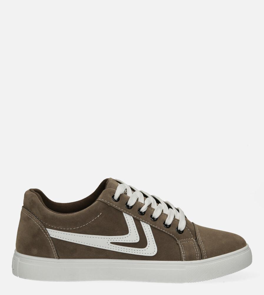 Brązowe buty sportowe sznurowane Casu A-22 brązowy