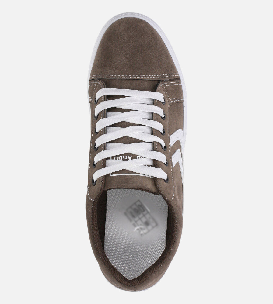 Brązowe buty sportowe sznurowane Casu A-22 wys_calkowita_buta 12 cm