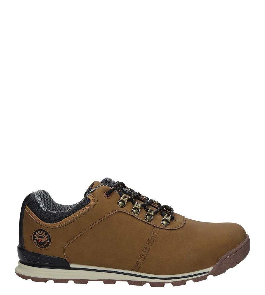 Brązowe buty trekkingowe sznurowane Casu MXC7571