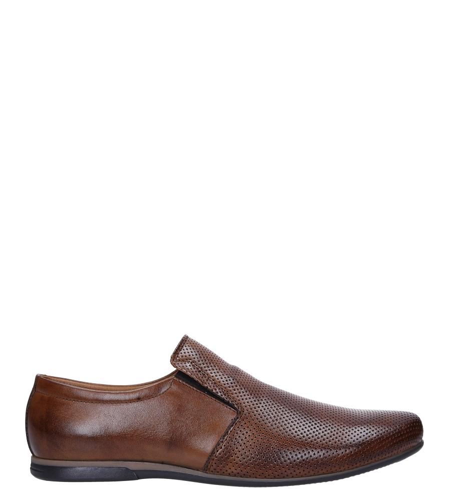 Brązowe buty wizytowe skórzane Windssor SP23/K6