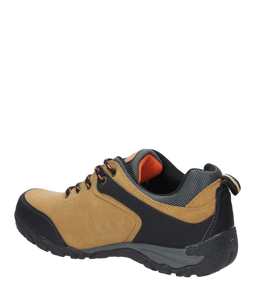 Camelowe buty trekkingowe Casu MXC7567 kolor camel