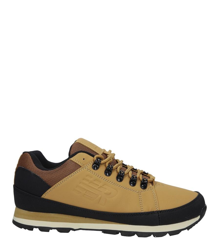 Camelowe buty trekkingowe sznurowane Casu 9ACH-17000