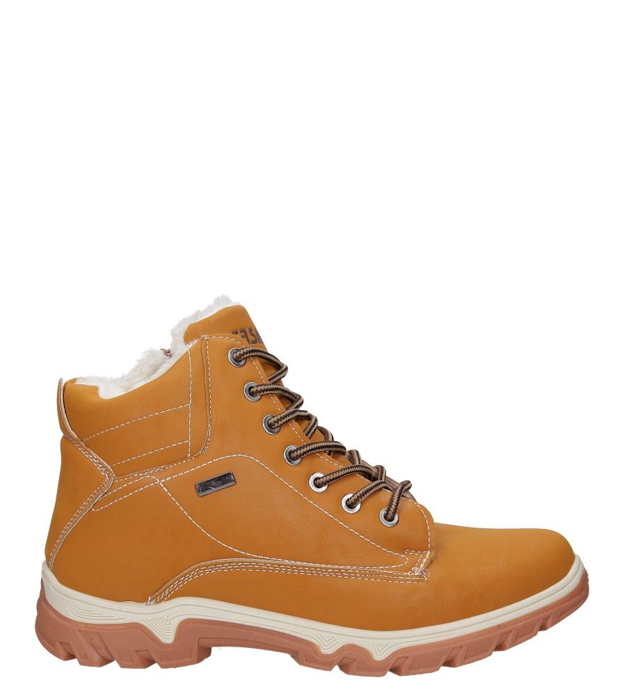 Camelowe buty trekkingowe sznurowane Casu A260-2