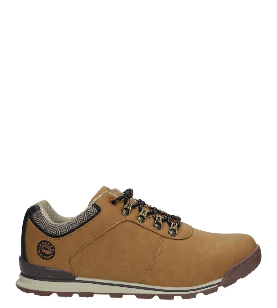 Camelowe buty trekkingowe sznurowane Casu MXC7571
