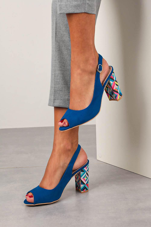 Chabrowe sandały Casu na ozdobnym słupku ze skórzaną wkładką N20X4/BL producent Casu