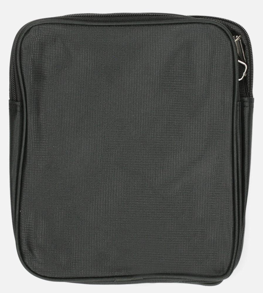 Czarna torba męska na ramię Casu 815