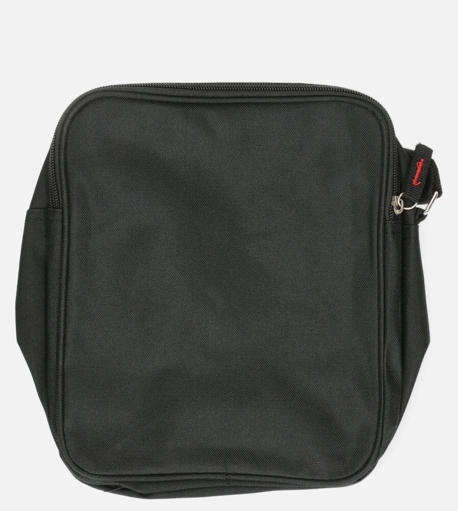 Czarna torba męska na ramię Casu 818