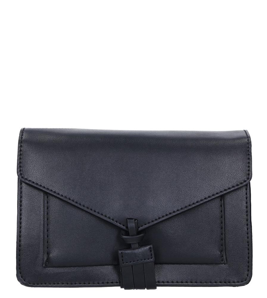 Czarna torebka mała Casu 4058-BB