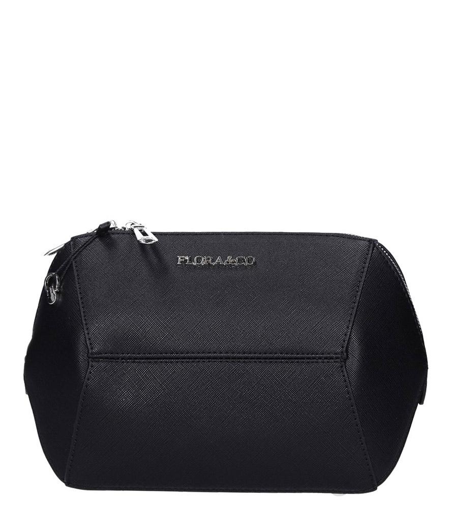 Czarna torebka mała Casu F6358