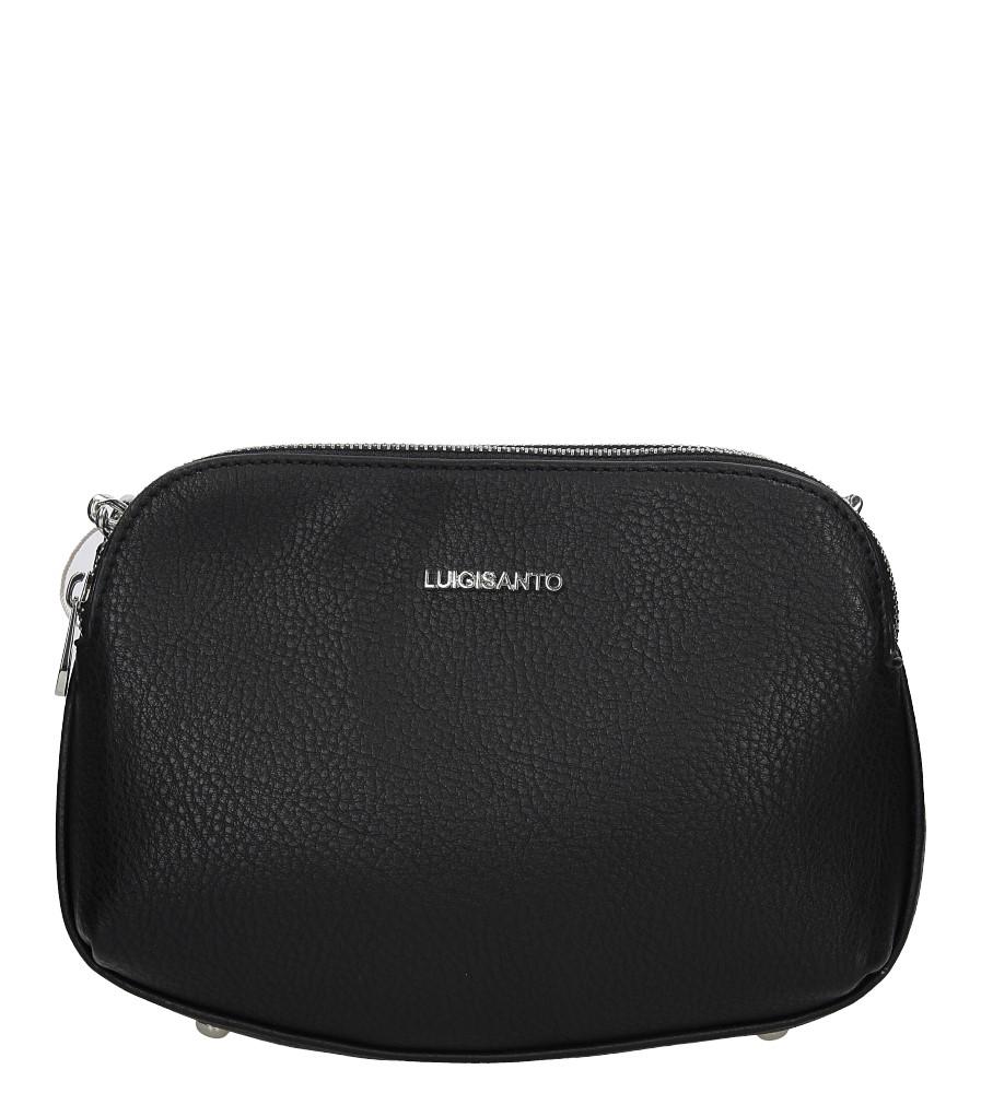 Czarna torebka na łańcuszku Casu 5740-2