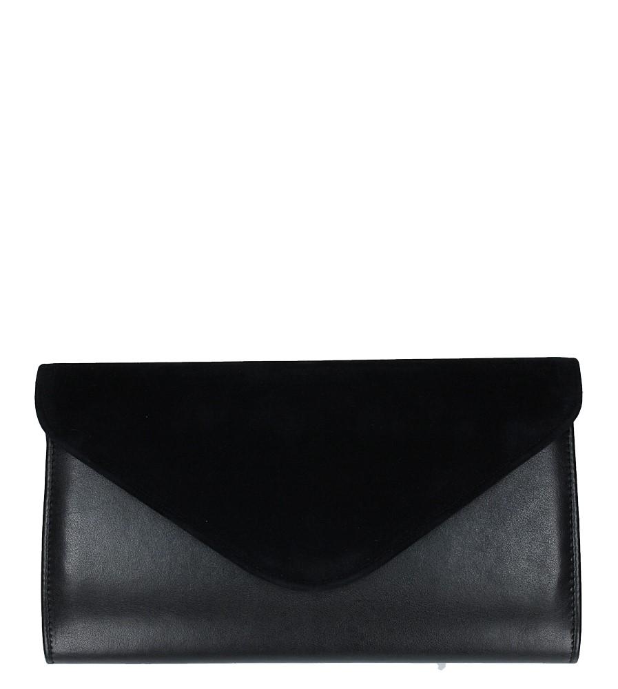 Czarna torebka wizytowa Casu 25