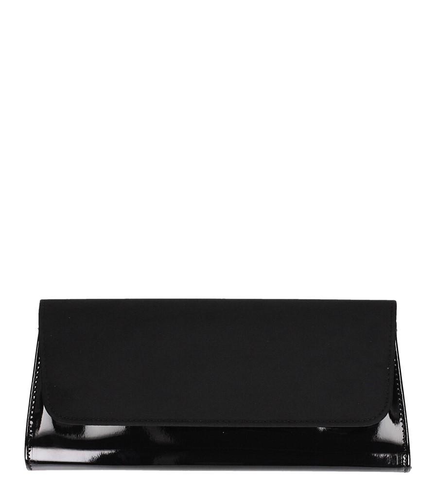 Czarna torebka wizytowa Casu 26