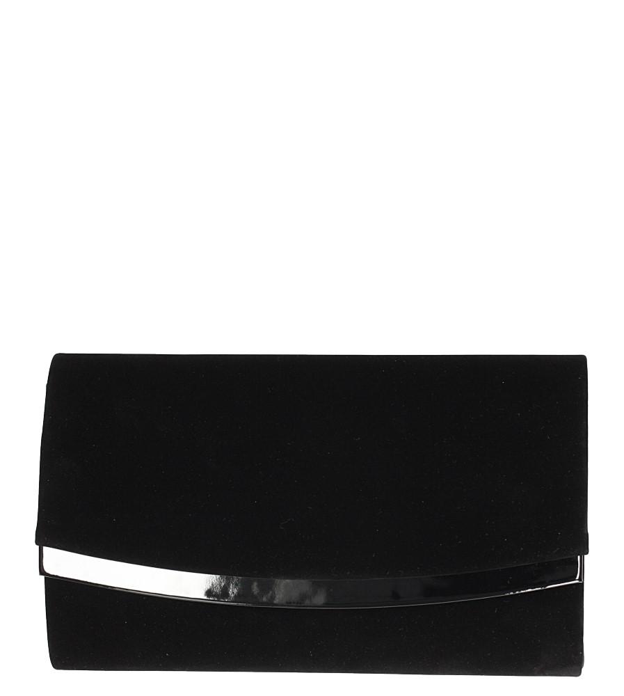 Czarna torebka wizytowa Casu R-2D