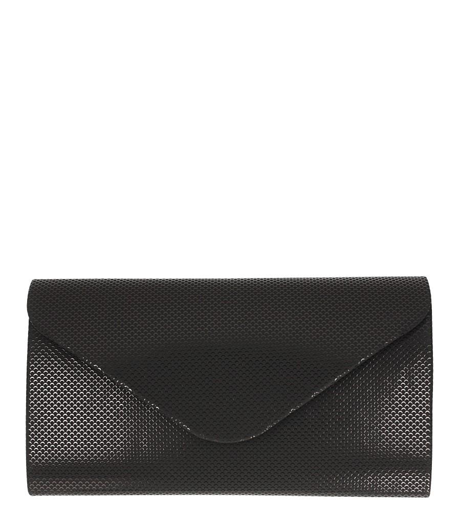 Czarna torebka wizytowa Casu R06