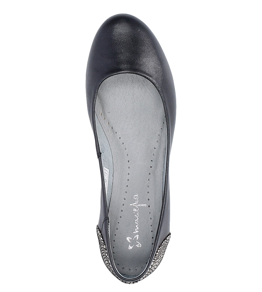 Czarne baleriny skórzane Maciejka 02899-25/00-5 wys_calkowita_buta 8 cm
