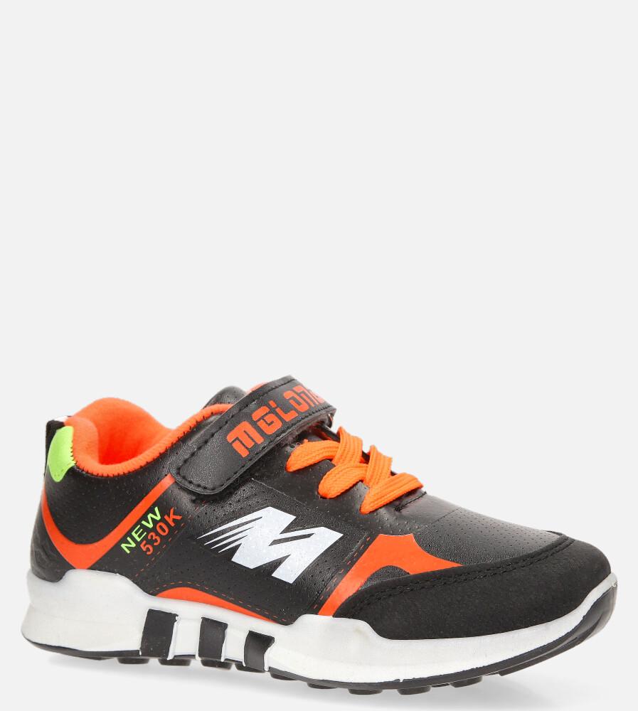 Czarne buty sportowe Casu 20X2/M czarny