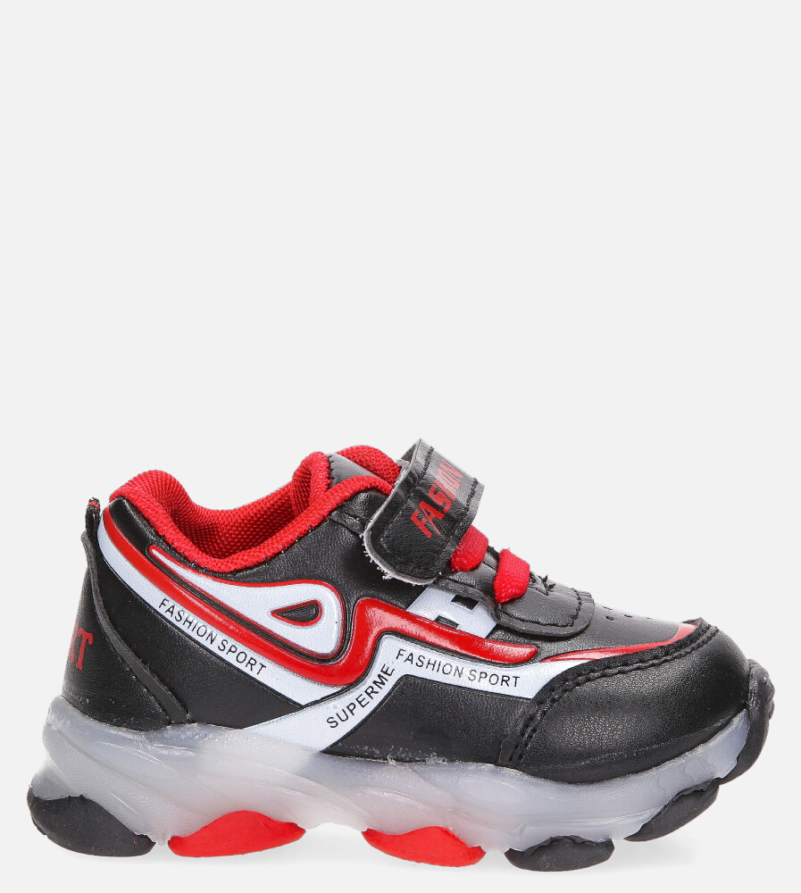 Czarne buty sportowe Casu 20X3/M czarny