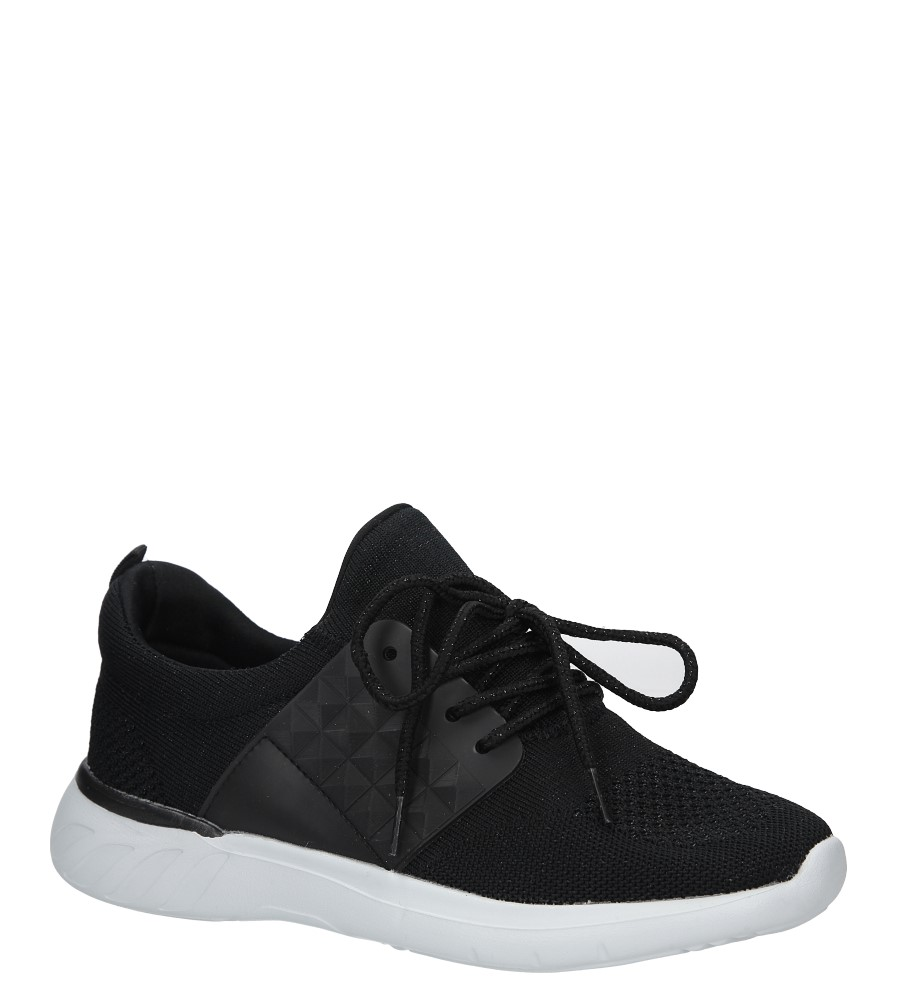 Czarne buty sportowe Casu C928-38 czarny