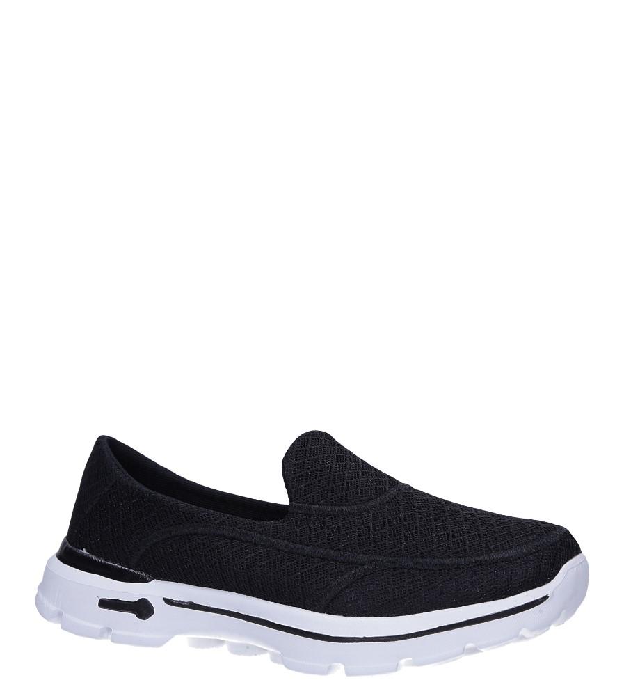 Czarne buty sportowe Casu F6-6 czarny