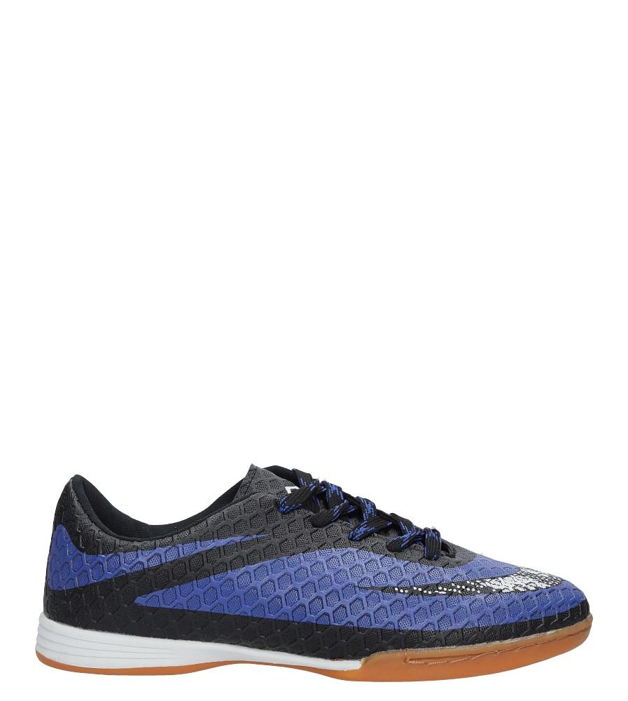 Czarne buty sportowe Casu LD280B-1