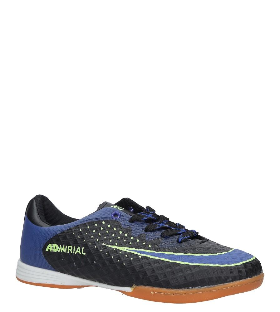 Czarne buty sportowe Casu LD284B-3