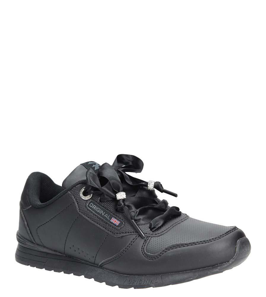 Czarne buty sportowe Casu LXC7521