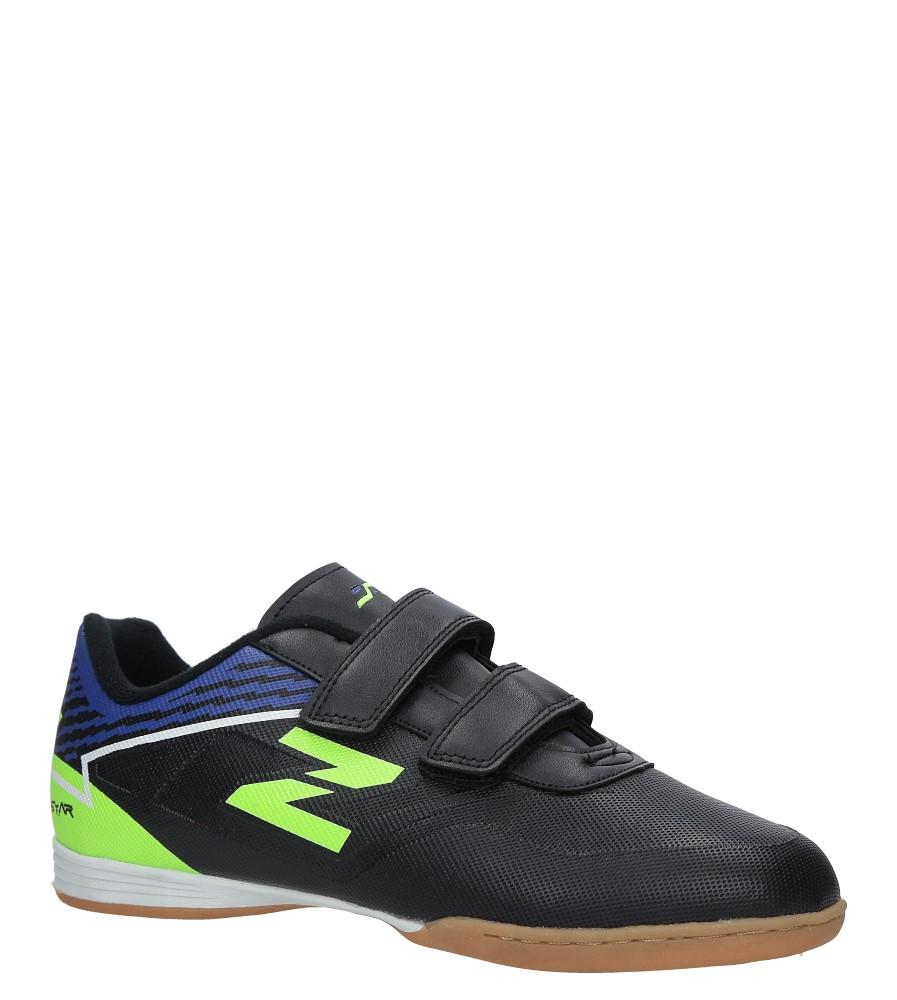 Czarne buty sportowe Casu LXC7545 czarny