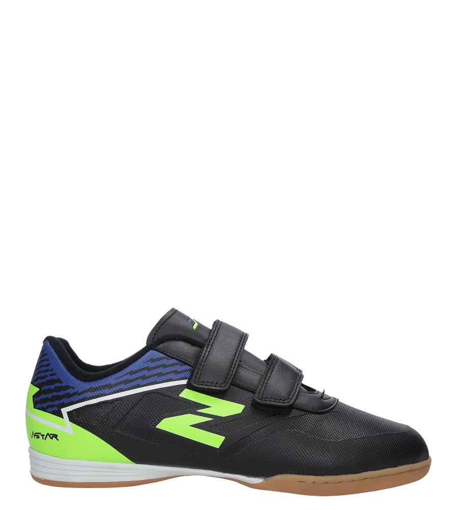 Czarne buty sportowe Casu LXC7545