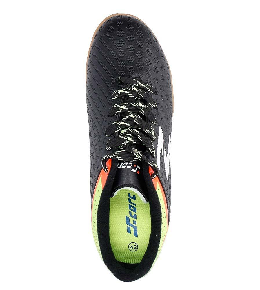 Czarne buty sportowe Casu MXC7414 wysokosc_platformy 1.5 cm