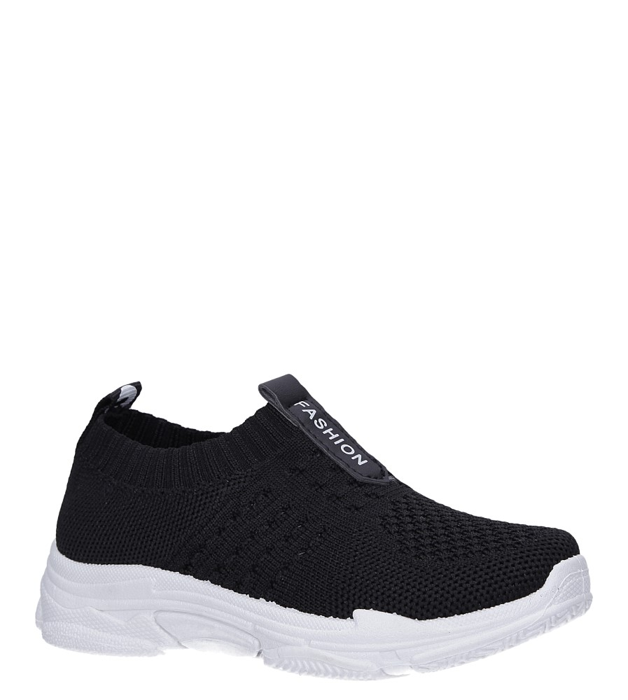 Czarne buty sportowe Casu TZ2080