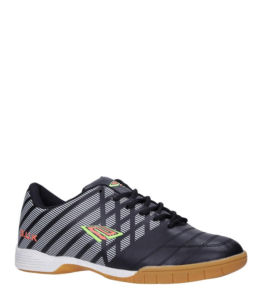 Czarne buty sportowe halówki Casu A1713-1