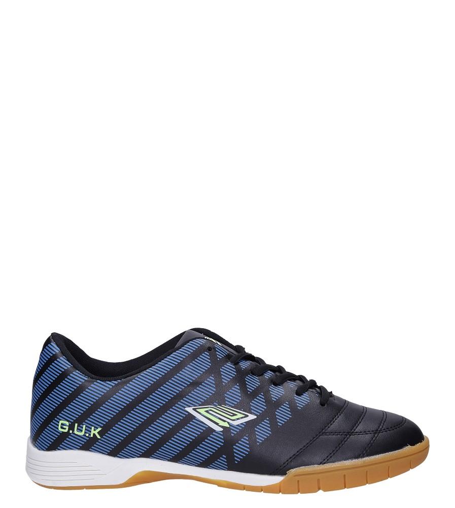 Czarne buty sportowe halówki Casu A1713-4 czarny