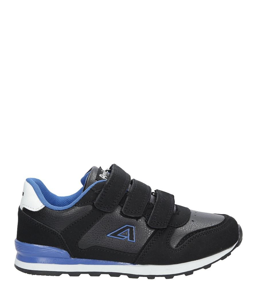 Czarne buty sportowe na rzepy American 13