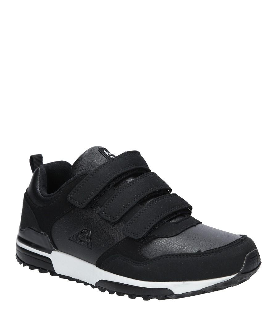 Czarne buty sportowe na rzepy American 7-1