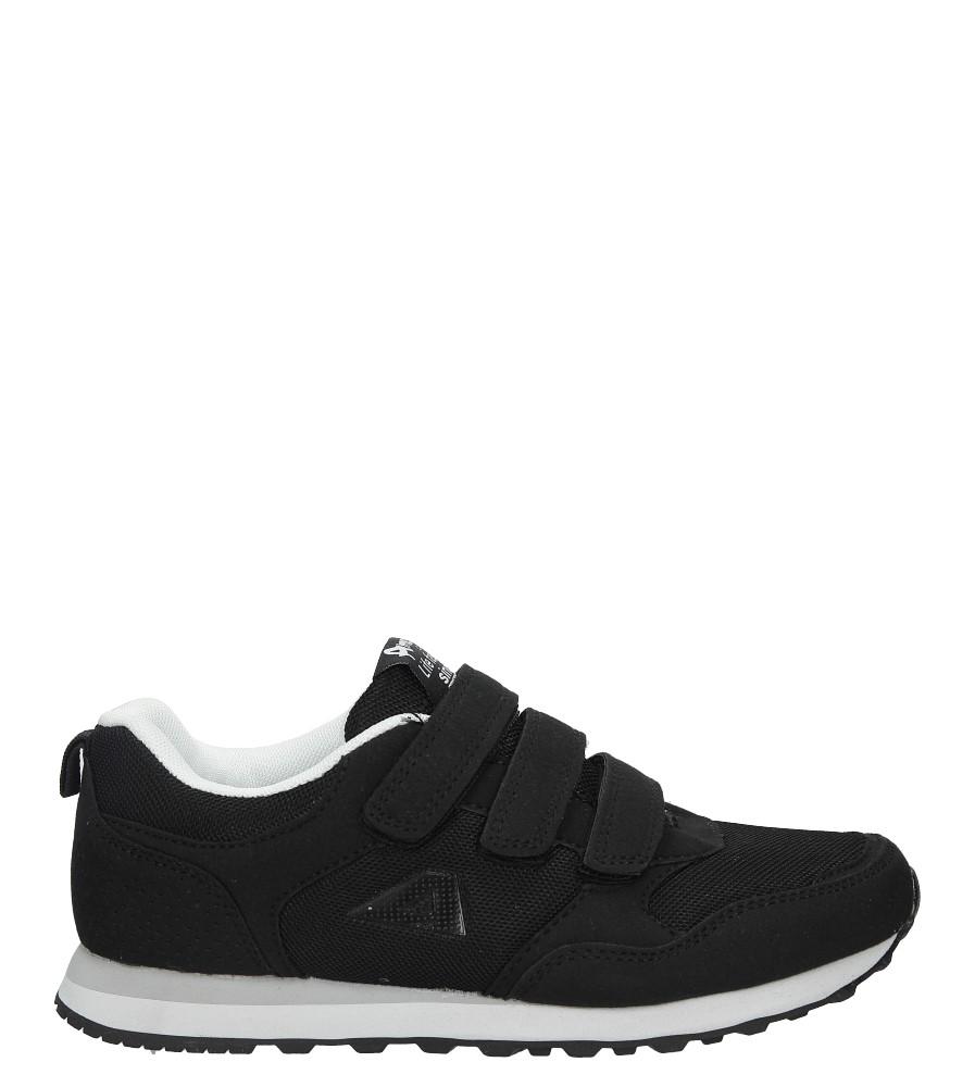 Czarne buty sportowe na rzepy American WT1754-A