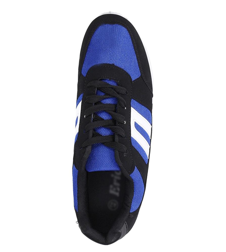 Czarne buty sportowe sznurowane Casu 17009-24 wys_calkowita_buta 12.5 cm