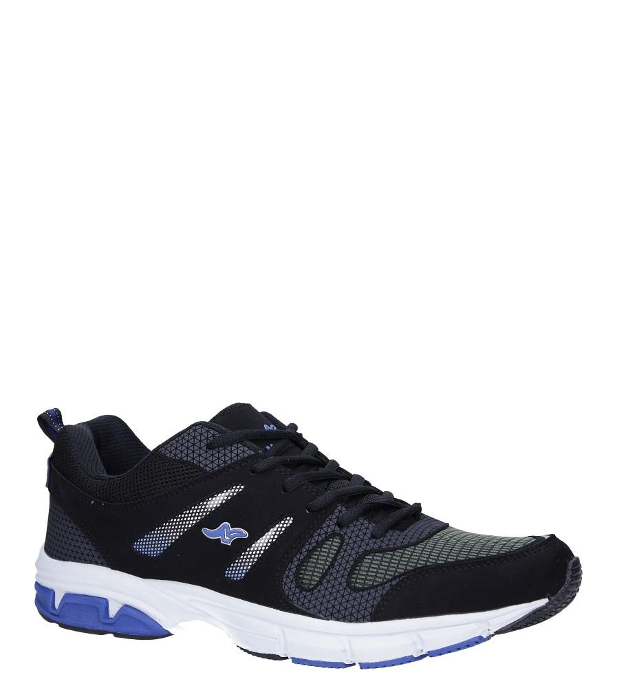Czarne buty sportowe sznurowane Casu 18027 producent Casu