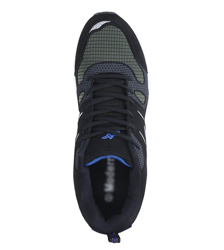 Czarne buty sportowe sznurowane Casu 18027 wys_calkowita_buta 14 cm