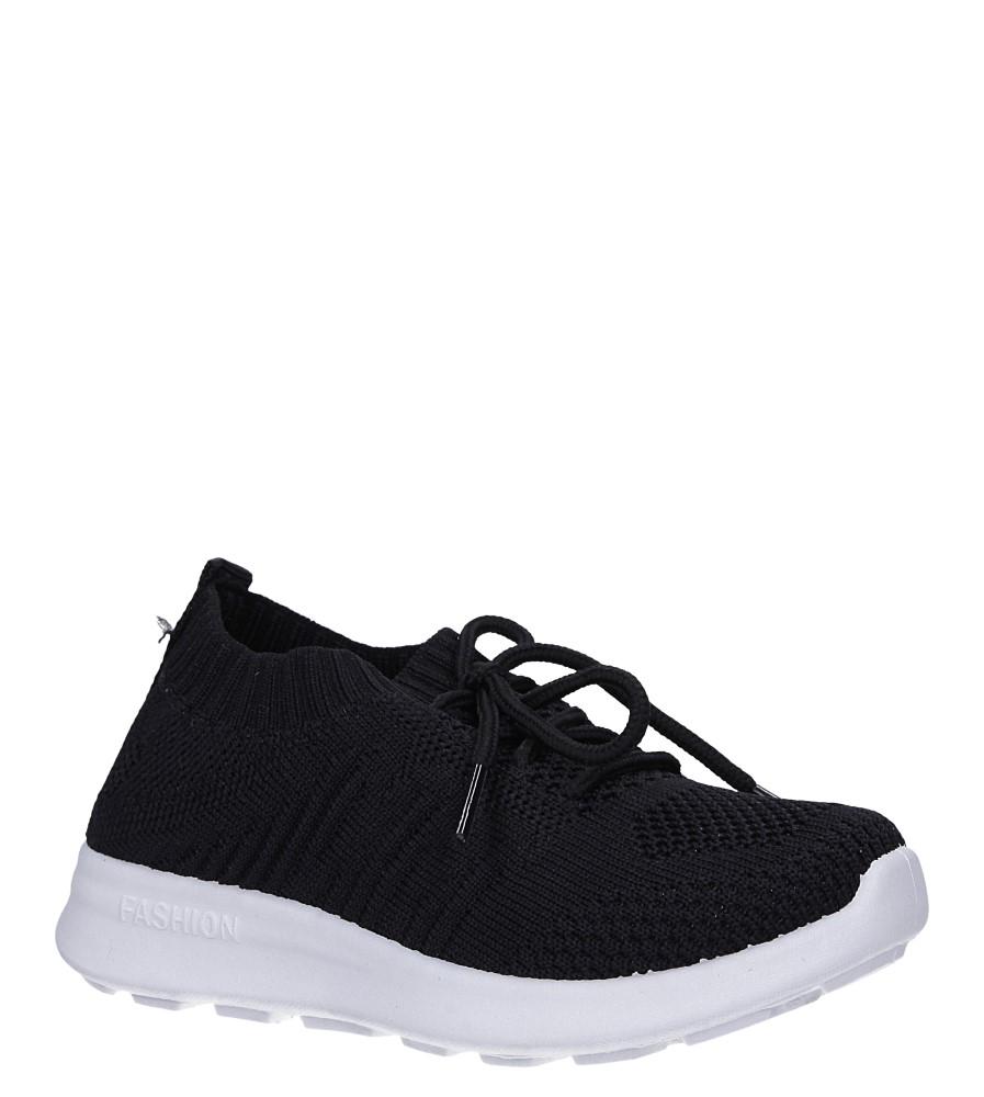 Czarne buty sportowe sznurowane Casu 1951 czarny