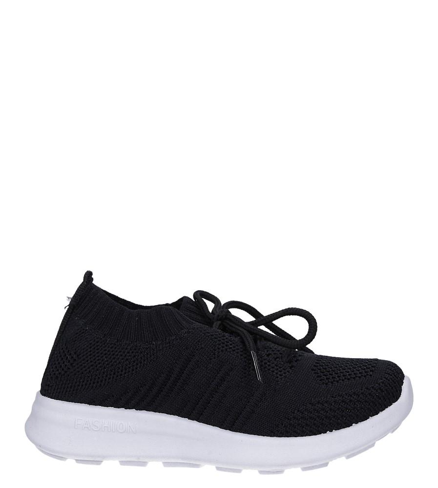 Czarne buty sportowe sznurowane Casu 1951