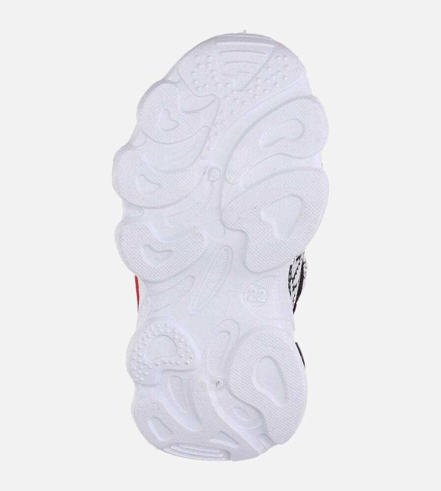 Czarne buty sportowe sznurowane Casu 2-21 wysokosc_platformy 1.5 cm