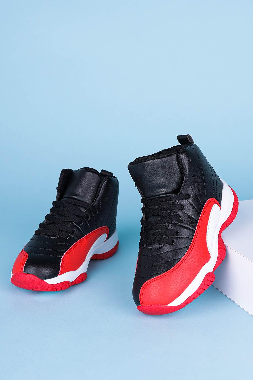Czarne buty sportowe sznurowane Casu 201H/BR producent Casu