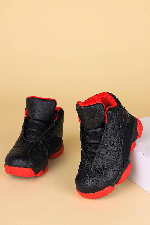 Czarne buty sportowe sznurowane Casu 201J/BR0 czarny
