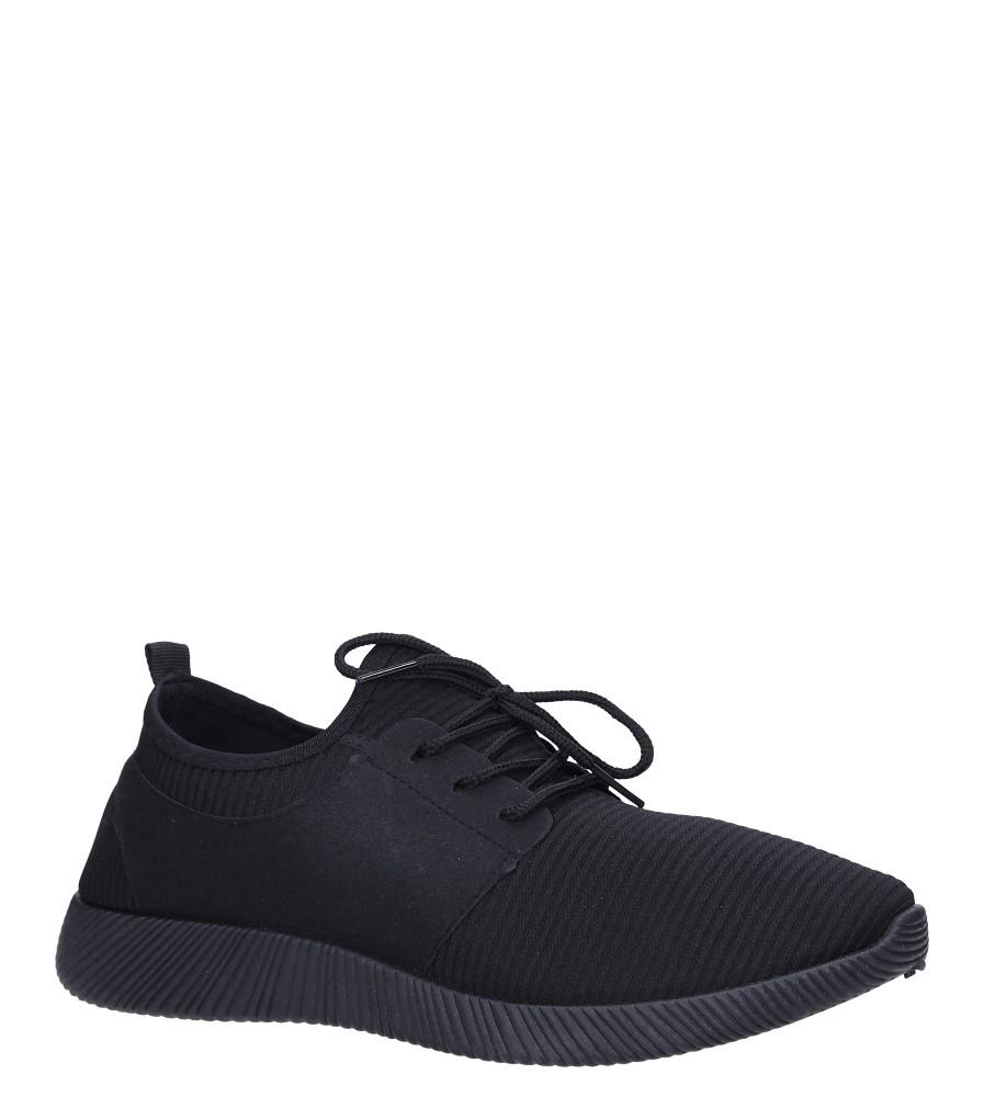 a5f82cda Buty Czarne buty sportowe sznurowane Casu 2951 - Sklep Casu.pl